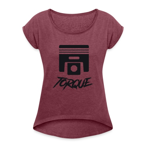 Logo Oficial - Women's Roll Cuff T-Shirt