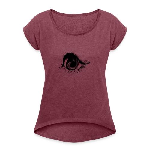 EYE of American Republic - Women's Roll Cuff T-Shirt