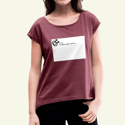 Untitled drawing 1 - Women's Roll Cuff T-Shirt