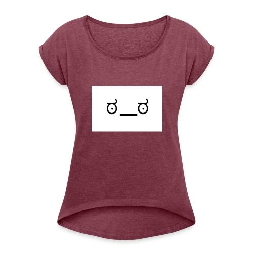NerdMuffin - Women's Roll Cuff T-Shirt