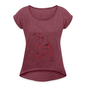 In your head production - Women's Roll Cuff T-Shirt