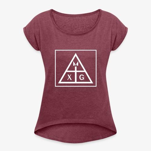MXG - Arte Clara - Women's Roll Cuff T-Shirt