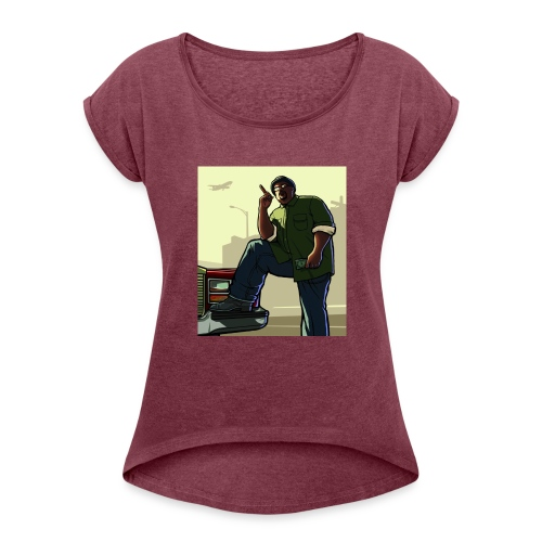 Big Smoke Sa - Women's Roll Cuff T-Shirt