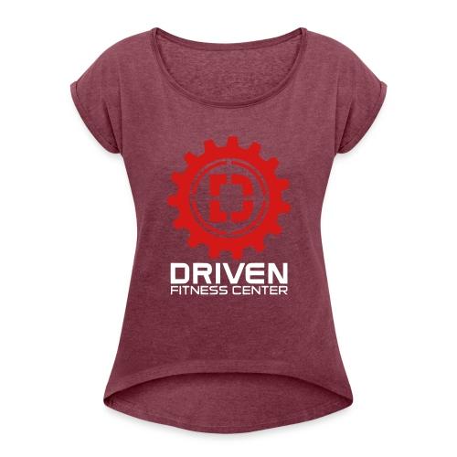 Stacked Logo - Women's Roll Cuff T-Shirt