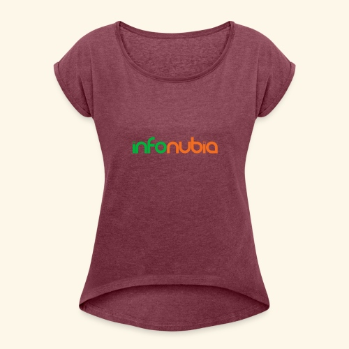 iNub - Women's Roll Cuff T-Shirt