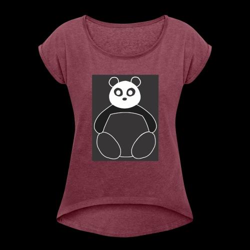 Fat Panda - Women's Roll Cuff T-Shirt