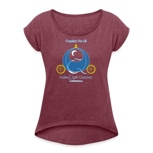 Cosplay For All: Cinderella - Women's Roll Cuff T-Shirt