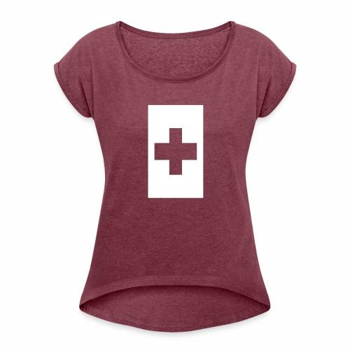 Mate Maa Tonga - Women's Roll Cuff T-Shirt