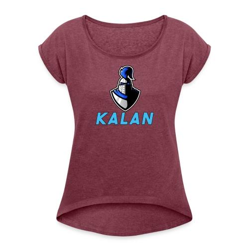 Kalan - Women's Roll Cuff T-Shirt