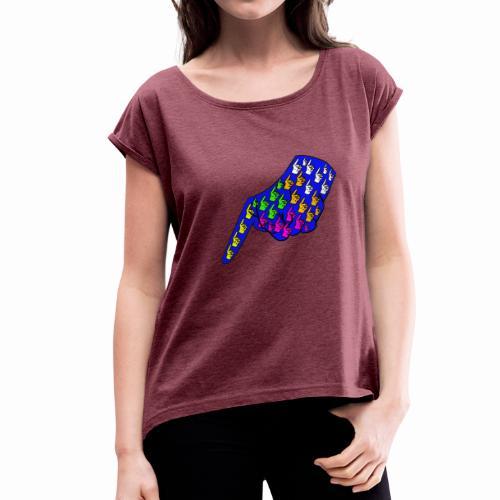 Finger - Women's Roll Cuff T-Shirt