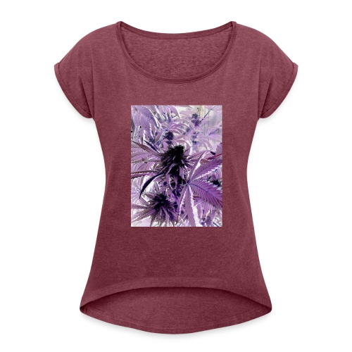 ray_ray_phone_pictures_020 - Women's Roll Cuff T-Shirt