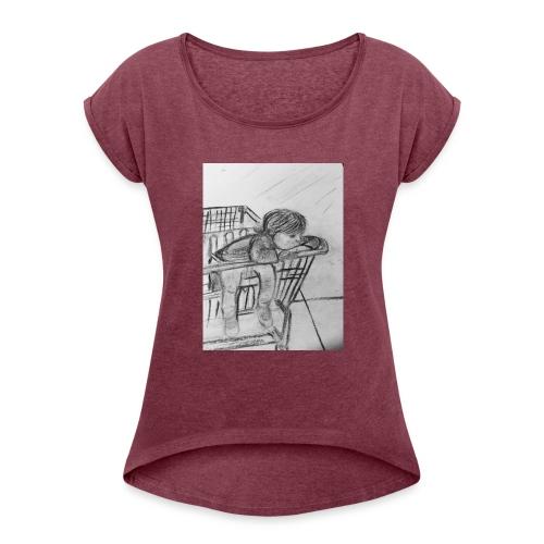 Brooklyn - Women's Roll Cuff T-Shirt