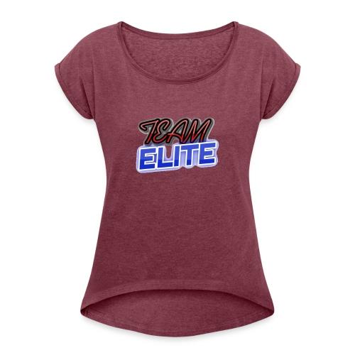 TEAM ELITE 2 - Women's Roll Cuff T-Shirt