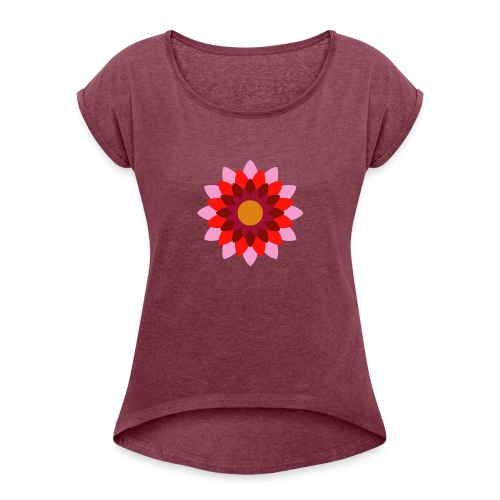 Pattern - Women's Roll Cuff T-Shirt