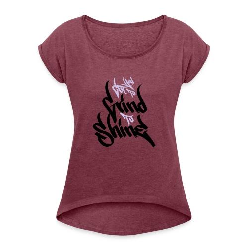 GTS - Women's Roll Cuff T-Shirt