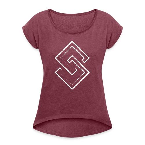 S - Women's Roll Cuff T-Shirt
