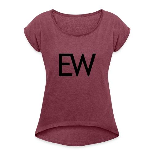 EDM Weekly - Women's Roll Cuff T-Shirt