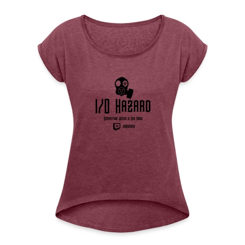 I/O Hazard Official - Women's Roll Cuff T-Shirt
