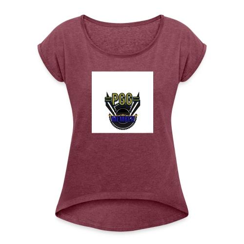 mystic_member_avatar - Women's Roll Cuff T-Shirt