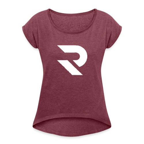 RaPt Clan Logo - Women's Roll Cuff T-Shirt