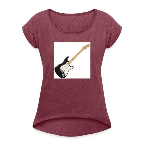 Vintage Axe - Women's Roll Cuff T-Shirt