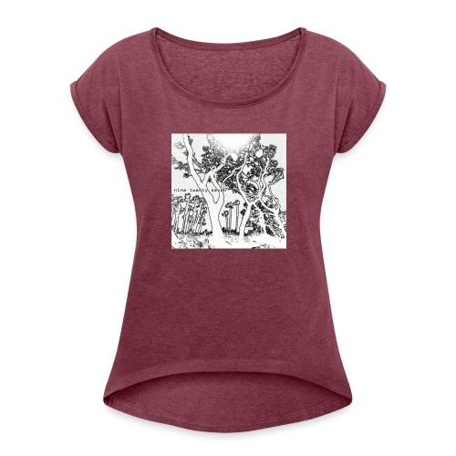 Nine Twenty Seven - Trees - Women's Roll Cuff T-Shirt