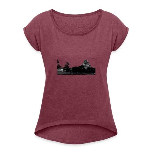 Insyncdesignz - Women's Roll Cuff T-Shirt
