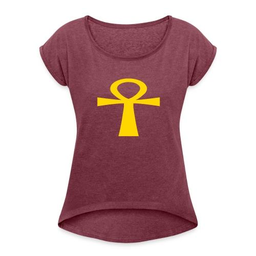 GOLD - Women's Roll Cuff T-Shirt