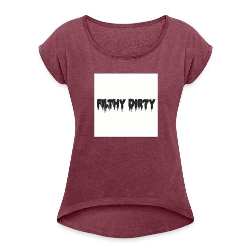 clothing_2 - Women's Roll Cuff T-Shirt
