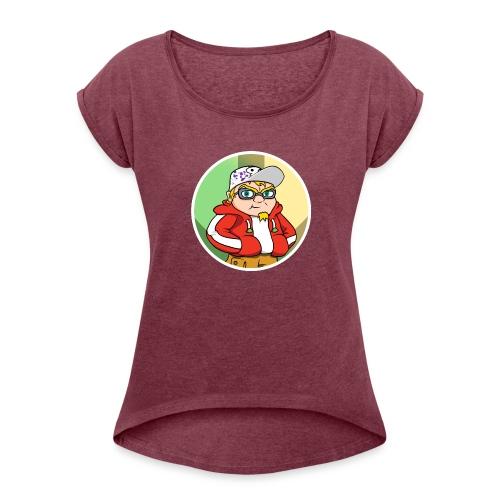 Hot Not Meh Avatar - Women's Roll Cuff T-Shirt