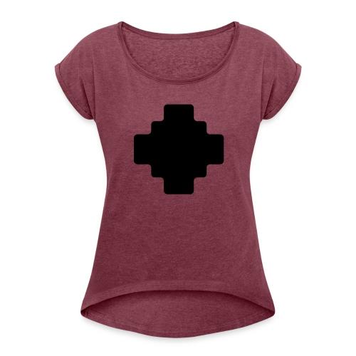 Shaman symbol - Women's Roll Cuff T-Shirt