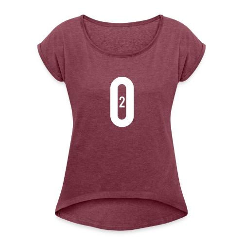 02 - Women's Roll Cuff T-Shirt