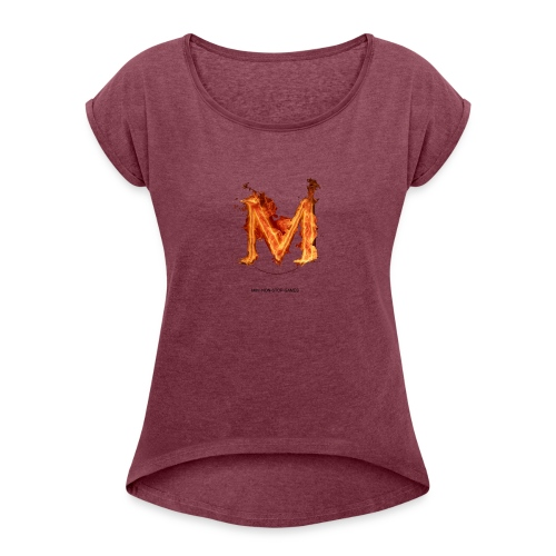 great logo - Women's Roll Cuff T-Shirt