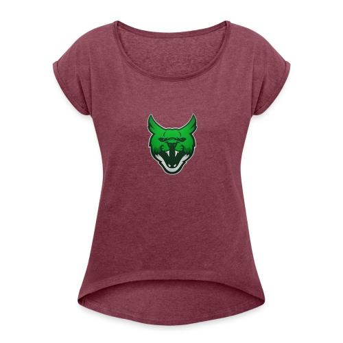 Zarah Mascot - Women's Roll Cuff T-Shirt