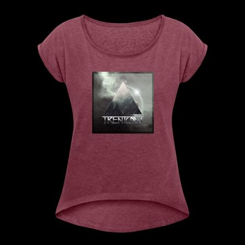 Trentcast Graphic - Women's Roll Cuff T-Shirt