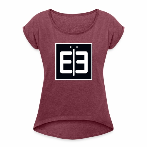Logo Range - Women's Roll Cuff T-Shirt