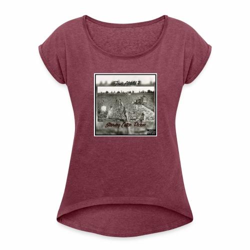Jawscotton picker album cover - Women's Roll Cuff T-Shirt