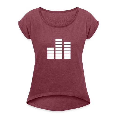 Fouzoradio - Women's Roll Cuff T-Shirt
