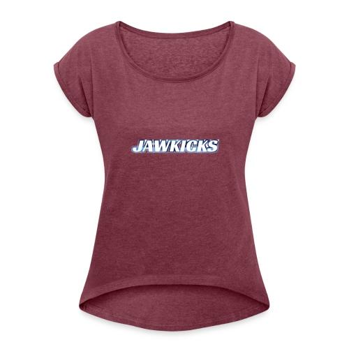 JAWKICKS LOGO APPAREL - Women's Roll Cuff T-Shirt