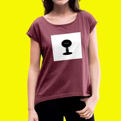 GUMBALL MACHINE POP - Women's Roll Cuff T-Shirt