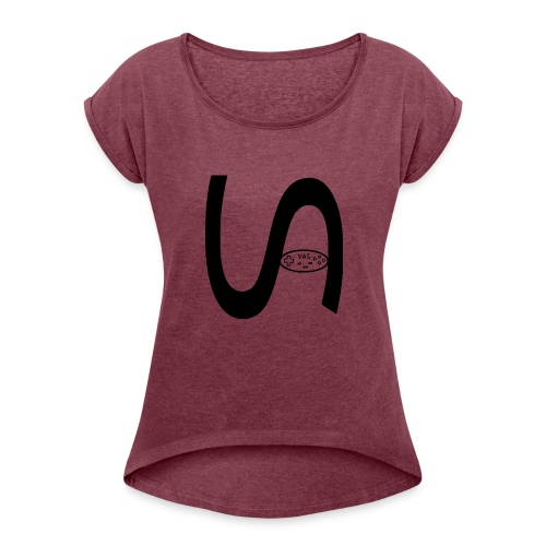Vastopian - Women's Roll Cuff T-Shirt