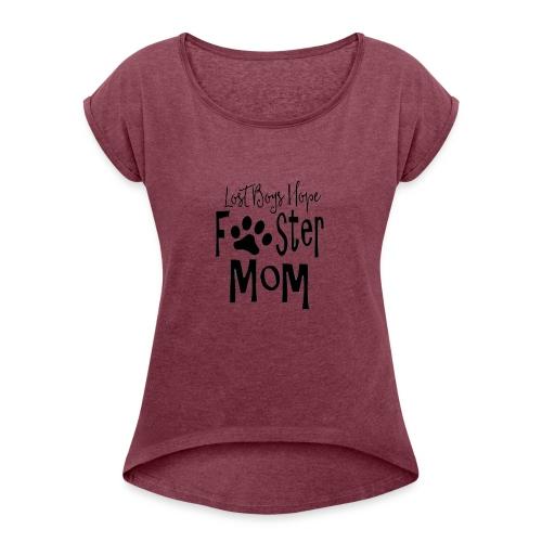 fm1 - Women's Roll Cuff T-Shirt