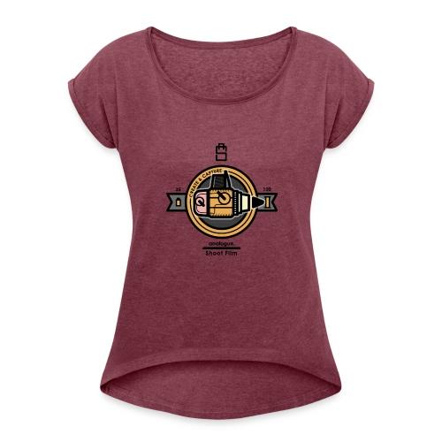 Medium Format 2 - Women's Roll Cuff T-Shirt