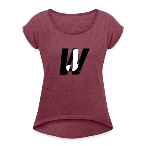 Jack Wide wear - Women's Roll Cuff T-Shirt
