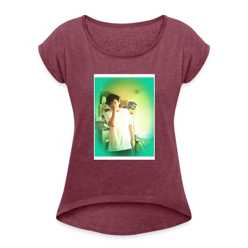 Derek Nguyen75 - Women's Roll Cuff T-Shirt