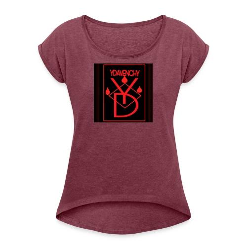 Ydavenchy Day 1 - Women's Roll Cuff T-Shirt