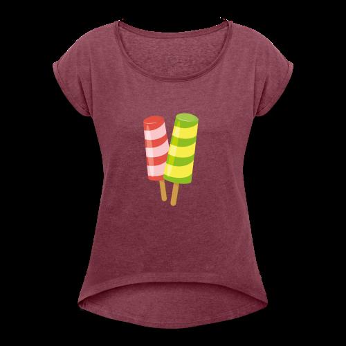 design-05 - Women's Roll Cuff T-Shirt