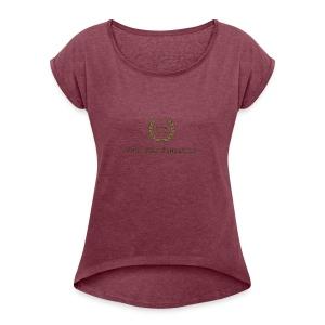 9343691A EA1C 407C 9E5C FF79503B75DA - Women's Roll Cuff T-Shirt