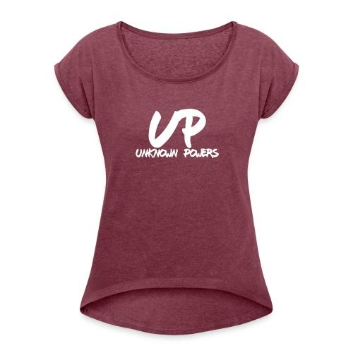 sg - Women's Roll Cuff T-Shirt