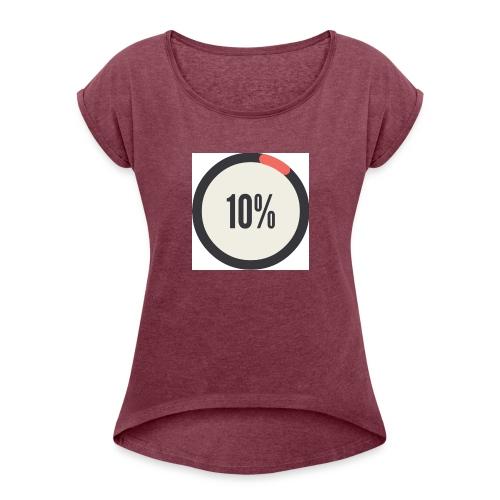 10% Album - Women's Roll Cuff T-Shirt